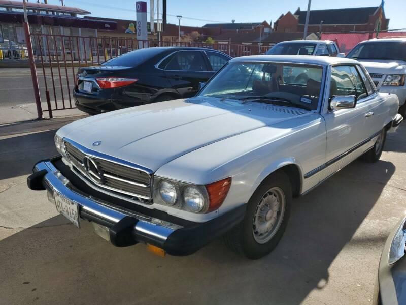1977 Mercedes-Benz 450 SL for sale in El Paso, TX