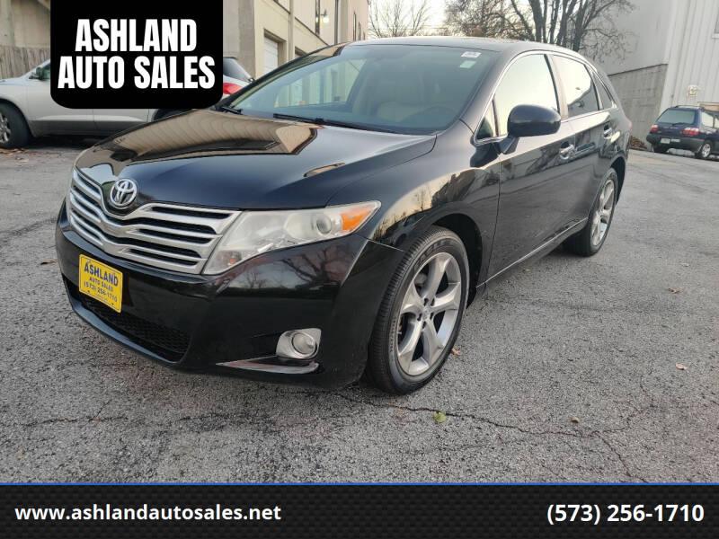 2009 Toyota Venza for sale at ASHLAND AUTO SALES in Columbia MO