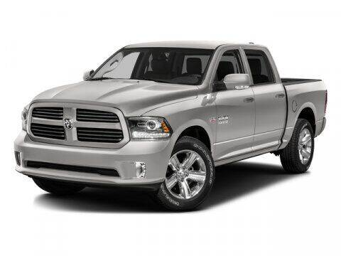 2016 RAM Ram Pickup 1500 for sale at Wally Armour Chrysler Dodge Jeep Ram in Alliance OH