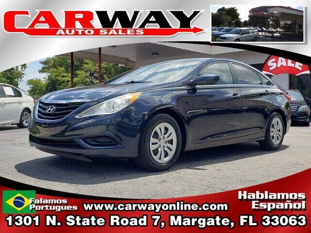 2012 Hyundai Sonata for sale at CARWAY Auto Sales in Margate FL