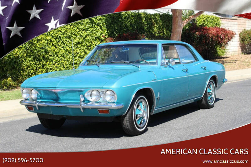 1965 Chevrolet Corvair for sale at American Classic Cars in La Verne CA