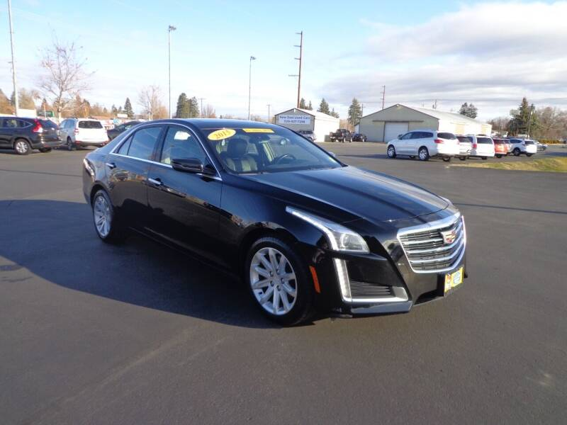 2015 Cadillac CTS for sale at New Deal Used Cars in Spokane Valley WA