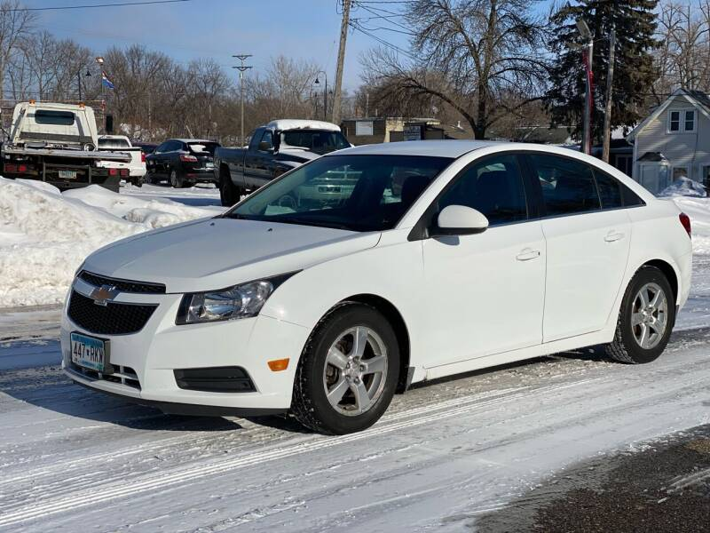 2012 Chevrolet Cruze for sale at Tonka Auto & Truck in Mound MN