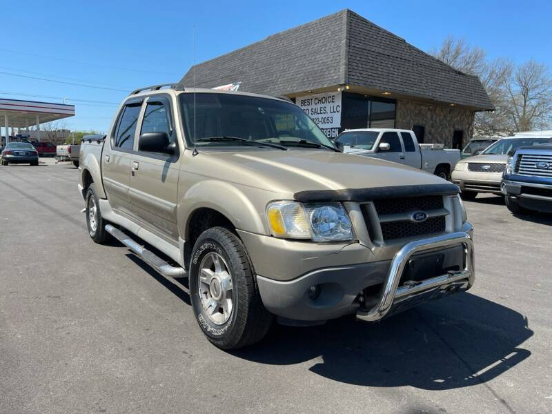 2003 Ford Explorer Sport Trac for sale at Best Choice Auto Sales in Lexington KY
