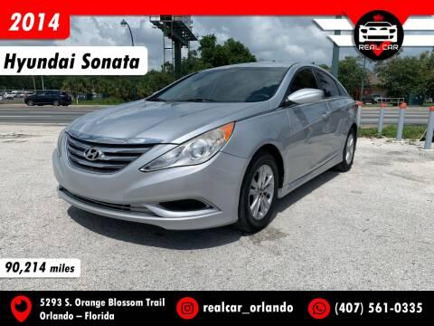 2014 Hyundai Sonata for sale at Real Car Sales in Orlando FL
