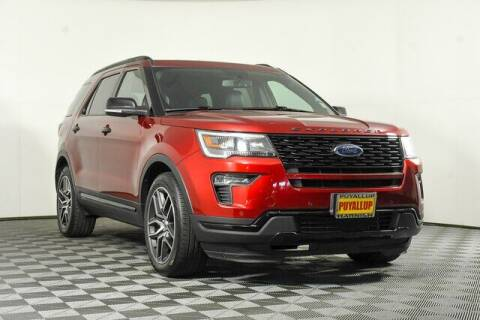 2019 Ford Explorer for sale at Washington Auto Credit in Puyallup WA