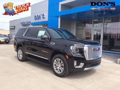 2021 GMC Yukon for sale at DON'S CHEVY, BUICK-GMC & CADILLAC in Wauseon OH