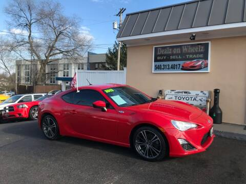 2013 Scion FR-S for sale at DEALZ ON WHEELZ in Winchester VA