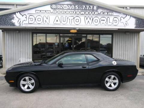 2014 Dodge Challenger for sale at Don Auto World in Houston TX