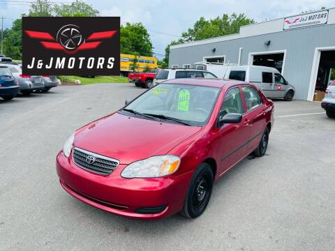 2007 Toyota Corolla for sale at J & J MOTORS in New Milford CT