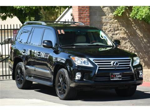 2014 Lexus LX 570 for sale at A-1 Auto Wholesale in Sacramento CA