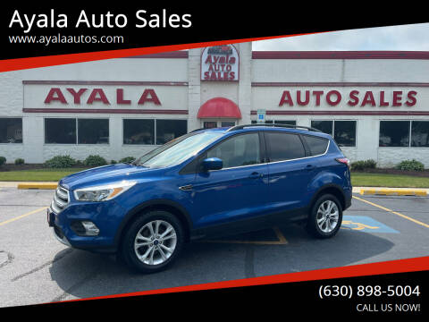 2018 Ford Escape for sale at Ayala Auto Sales in Aurora IL
