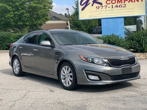 2015 Kia Optima for sale at GR Motor Company in Garner NC