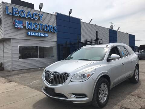2013 Buick Enclave for sale at Legacy Motors in Detroit MI