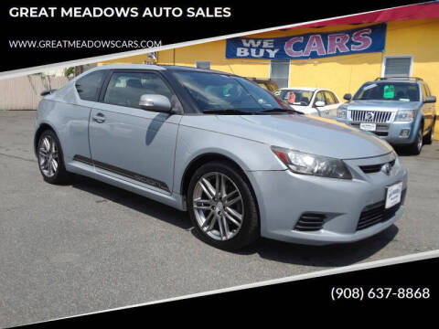 2011 Scion tC for sale at GREAT MEADOWS AUTO SALES in Great Meadows NJ