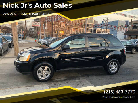 2007 Chevrolet Equinox for sale at Nick Jr's Auto Sales in Philadelphia PA