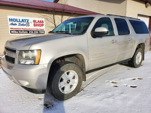 2008 Chevrolet Suburban for sale at Hollatz Auto Sales in Parkers Prairie MN