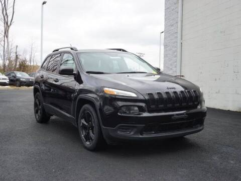 2017 Jeep Cherokee for sale at Ron's Automotive in Manchester MD