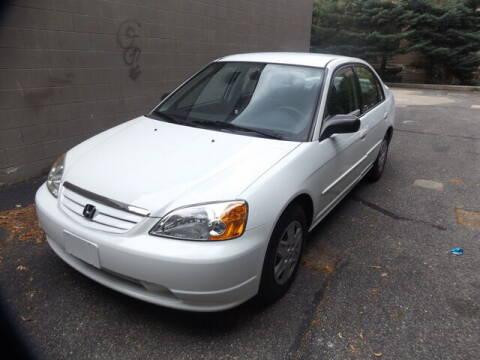 2003 Honda Civic for sale at Wayland Automotive in Wayland MA