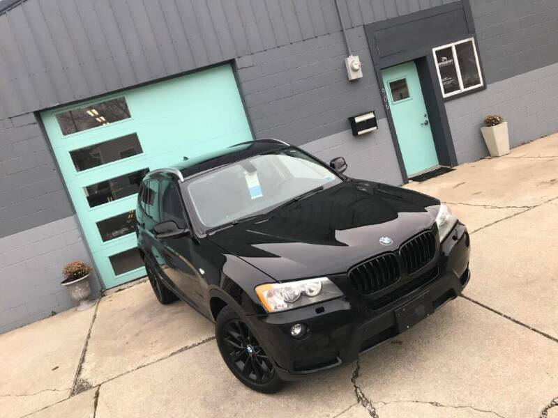 2013 BMW X3 for sale at Enthusiast Autohaus in Sheridan IN