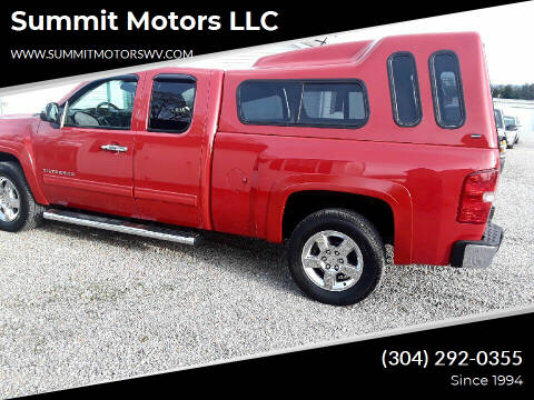 2010 Chevrolet Silverado 1500 for sale at Summit Motors LLC in Morgantown WV