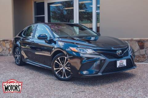 2020 Toyota Camry for sale at Mcandrew Motors in Arlington TX