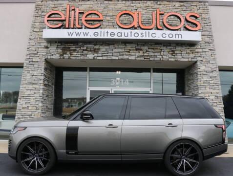 2020 Land Rover Range Rover for sale at Elite Autos LLC in Jonesboro AR