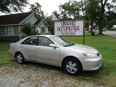 2005 Toyota Camry for sale at Under 10 Automotive in Robertsdale AL