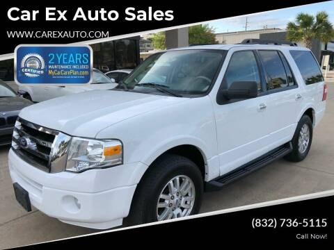2011 Ford Expedition for sale at Car Ex Auto Sales in Houston TX