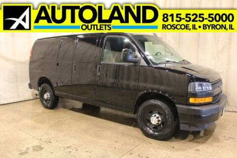 2019 Chevrolet Express Cargo for sale at AutoLand Outlets Inc in Roscoe IL
