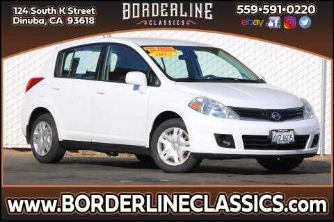 2012 Nissan Versa for sale at Borderline Classics in Dinuba CA