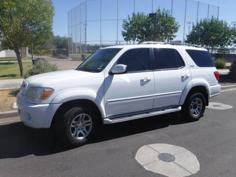2007 Toyota Sequoia for sale at J & E Auto Sales in Phoenix AZ