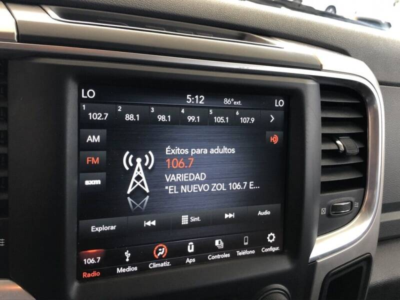 2019 RAM Ram Pickup 1500 Classic 4x4 Big Horn 4dr Crew Cab 5.5 ft. SB Pickup - Davie FL