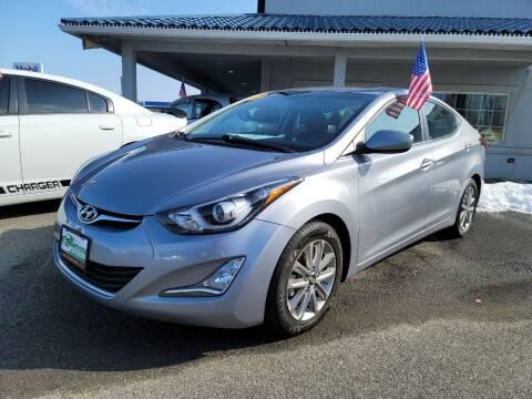 2015 Hyundai Elantra for sale at Artistic Auto Group, LLC in Kennewick WA