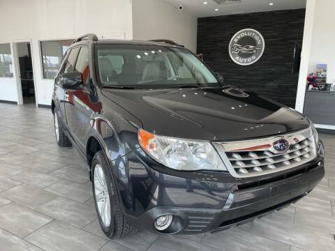 2011 Subaru Forester for sale at Evolution Autos in Whiteland IN