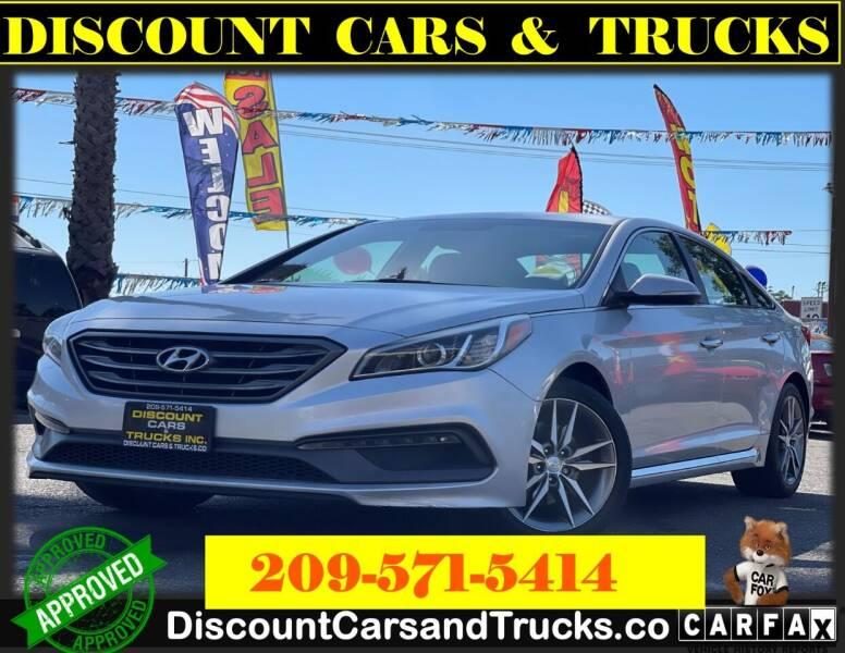 2015 Hyundai Sonata for sale at Discount Cars & Trucks in Modesto CA