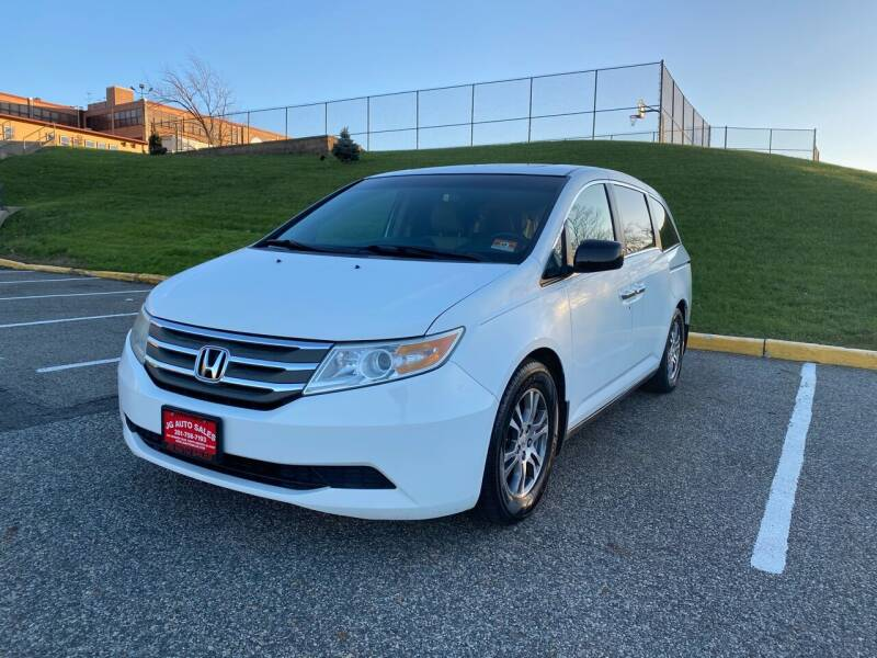2011 Honda Odyssey for sale at JG Auto Sales in North Bergen NJ