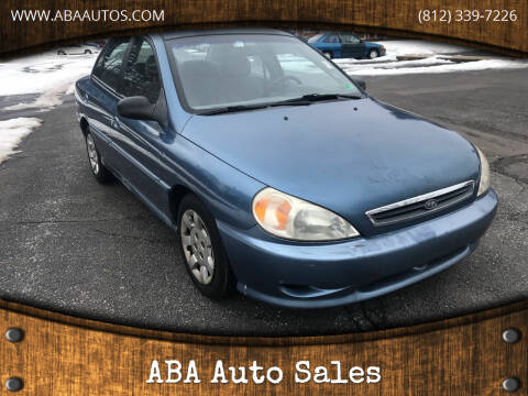 2002 Kia Rio for sale at ABA Auto Sales in Bloomington IN