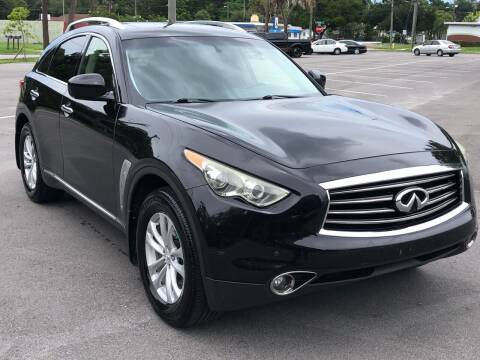 2012 Infiniti FX35 for sale at Consumer Auto Credit in Tampa FL
