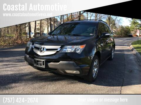 2009 Acura MDX for sale at Coastal Automotive in Virginia Beach VA