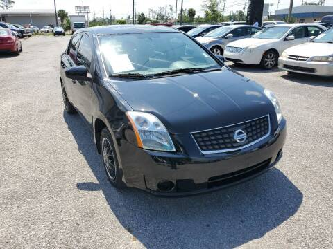 2007 Nissan Sentra for sale at Jamrock Auto Sales of Panama City in Panama City FL