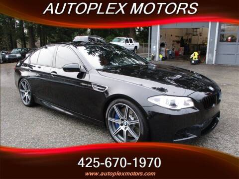 2015 BMW M5 for sale at Autoplex Motors in Lynnwood WA