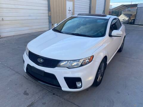2011 Kia Forte Koup for sale at CONTRACT AUTOMOTIVE in Las Vegas NV