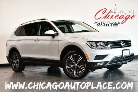 2018 Volkswagen Tiguan for sale at Chicago Auto Place in Bensenville IL