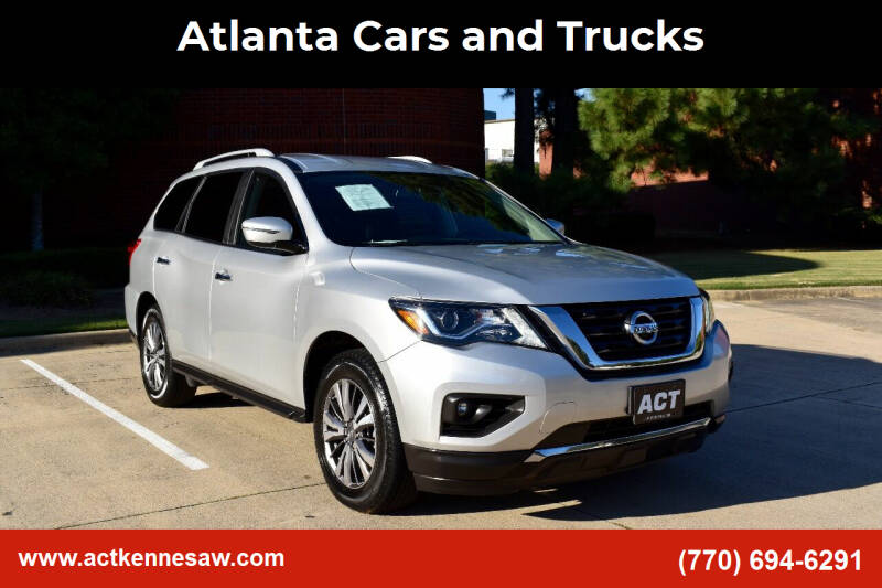 2018 Nissan Pathfinder for sale at Atlanta Cars and Trucks in Kennesaw GA