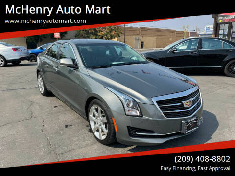 2016 Cadillac ATS for sale at McHenry Auto Mart in Turlock CA