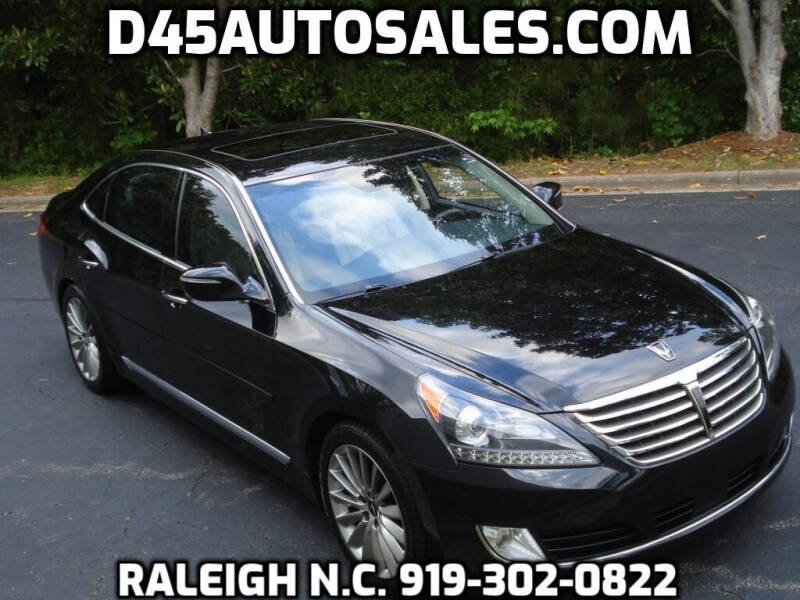2016 Hyundai Equus for sale at D45 Auto Brokers in Raleigh NC