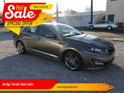 2013 Kia Optima for sale at Bridge Street Auto Sales in Cynthiana KY