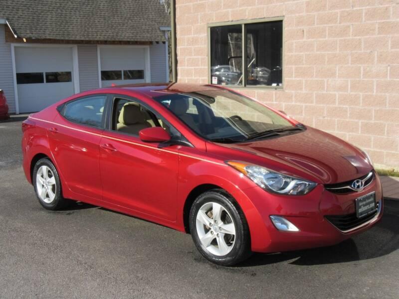 2012 Hyundai Elantra for sale at Advantage Automobile Investments, Inc in Littleton MA