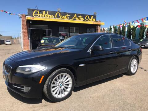 2013 BMW 5 Series for sale at Golden Coast Auto Sales in Guadalupe CA